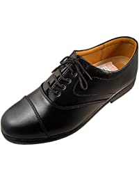 Action Shoes Men's Black Synthetic Leather Formal Shoe UK/India 8