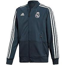 adidas Veste Présentation Real Madrid Gris Junior 8cba3b74318