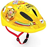 Casco de bicicleta de Disney para niños de Cars, Mickey, Minnie, Winnie The Pooh y Princesas, color Winnie the Pooh, tamaño 52-56 cm