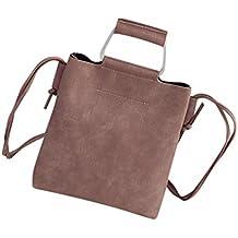 Bolso Bandolera Bolsa de hombro de Piel Grande para Mujer y Shoppers por ESAILQ U