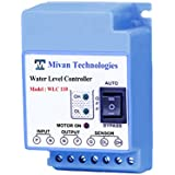 Mivan Technologies Fully Automatic Water Level Controller and 3 Sensors (Supply 230VAC),Blue