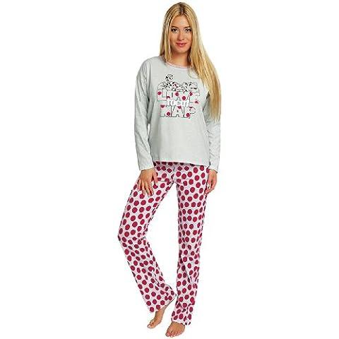 Italian Fashion IF Pijamas para Mujer Anita 0223