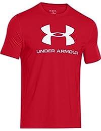 Under Armour Cc Sportstyle Logo Camiseta de Manga Corta, Hombre, Rojo (Red/White), M