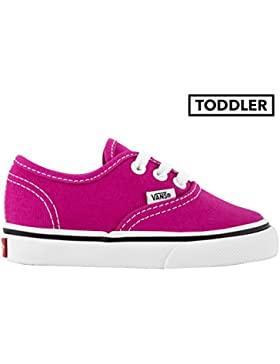 Vans Toddler Authentic -Fall 2017-(VA38E7OVY) - Very Berry/true White - 9.5C