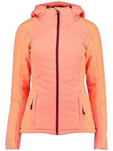 O'Neill Damen Snowboard Jacke Kinetic Weld Jacket Orange Snowboard-jacke