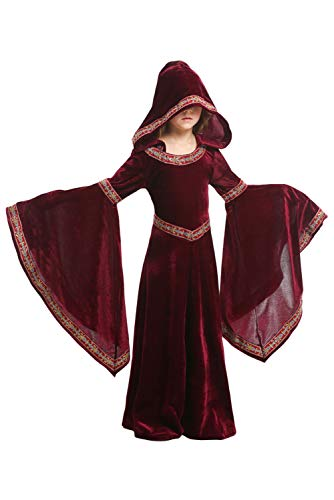 Kinderkostüm Mädchen Mittelalter Kostüm mittelalterlichen Adels Palast