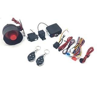 Universales Auto-Sicherheits-Alarmsystem, Wegfahrsperre, Zentralverriegelung und Schock-Sensor