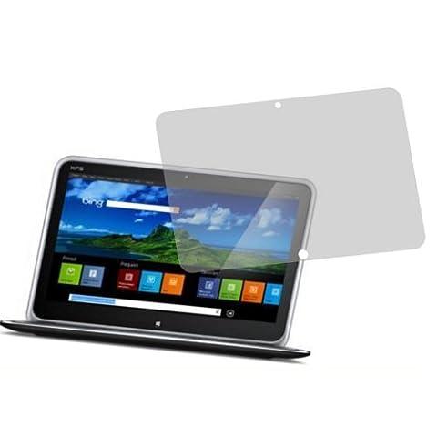 2x Entspiegelnde Displayschutzfolie Bildschirmschutzfolie von 4ProTec für Dell XPS Duo 12 - Nahezu blendfreie (Dell Duo)