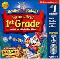 READER RABBIT PER 1ST GRADE DLX 2CD JC