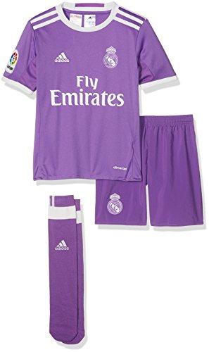 adidas Real Madrid CF 2015 16 A SMU Mini Conjunto Jugador 3a4fc4b62df92