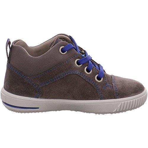 Superfit 7-00353-06 Moppy, chaussures premiers pas bébé gris - Gris - gris