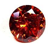 Urancia® Excellent Red Zircon Lal Zircon Uparatna Stone Baikrantamoni Zargun Jarkan Stone 6.2Cts Lab Certified For Ring Locket Pendant