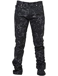 Balenciaga Homme 390155TOE111200 Gris Coton Jeans