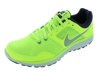 Nike Herren Lunarfly+ 4 Laufschuhe, Verde / Plateado / Morado (Vlt / Rflct Slvr-Grnd Prpl-Pr Pl), 40 1/2 EU