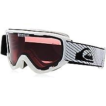 Quiksilver Sherpa - Máscara de snowboard para hombre, color blanco, talla única