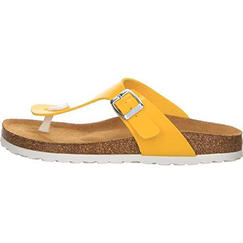 Salamander Damen Pantoletten Größe 39 EU Gelb (gelb)