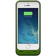 Mophie 2541_JPH-IP5-GRN-I Juice Pack Helium schmale schützende Hartschale mit Akku (1500mAh) für iPhone 5/5S grün
