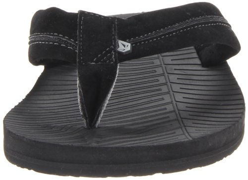 Volcom  CARNECOURSE CREEDLERS, tongs mixte adulte Noir - Schwarz (VINTAGE BLACK VBK)