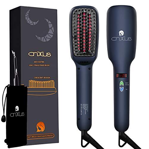 CNXUS MCH Keramische Heizung Glättbürste, Ionischer Haarglätter