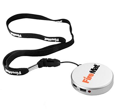 Firemat USB Elektronische Akku Flammenlos Zigarettenanzünder–weiß