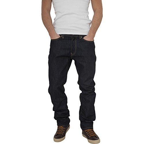Mag Urban Classics TB376 Loose Fit Jeans Jeans Herren Streetwear Hosen blue stoned