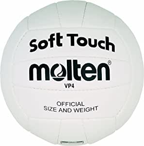 Molten VP4 Ballon de volleyball Blanc Taille 4