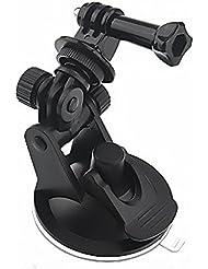 out4live ® - GoPro Zubehör Saugnapfhalter Windschutzscheibe Saugnapf-Halter als / für Auto Halterung flexibel für Hero 4 3+/3/2/1