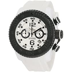 Vip Time Italy Men's VP5051WH Free Style Sporty Chronograph Watch