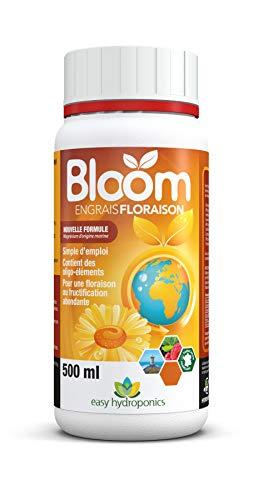 Easy Hydroponics - Nutriments - Bloom 500 ml (floraison) - Engrais complet pour cultures hydroponiques
