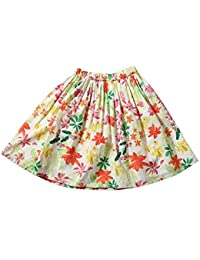 3621b4de164ff1 Tiddlywings Girl's Cotton Floral Printed Voil Skirt (Multicolour, 5 Years)