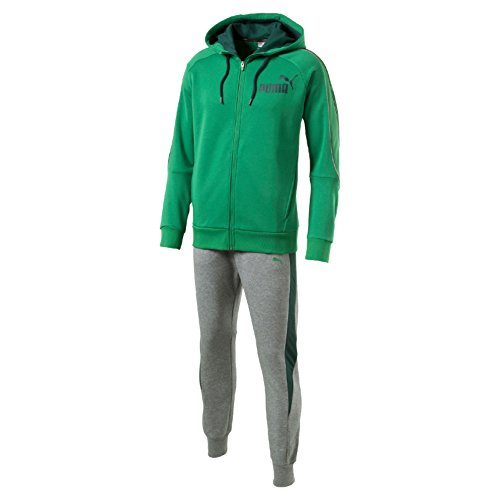 Puma Style Best Suit Sweat Tuta Sportiva - Verde (Amazon Green) - XXL