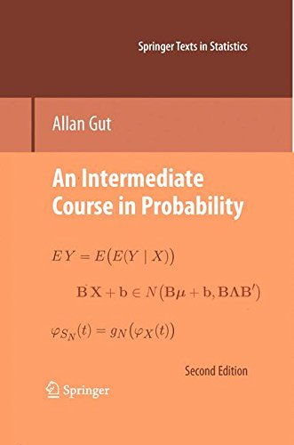 An Intermediate Course in Probability (Springer Texts in Statistics)