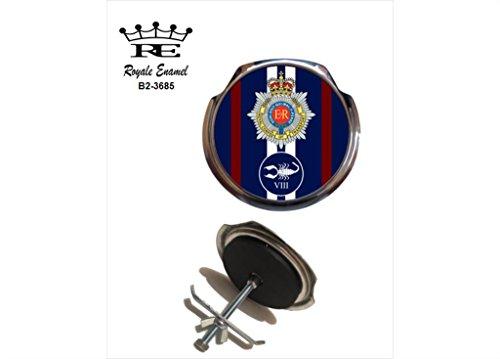 Preisvergleich Produktbild Royale Emaille Royale Car Grill Badge – Royal Corps of Transport 8 Regiment B2. Briefkastenständer