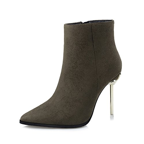 FLYRCX Onorevoli personalità Sexy, elegante tacco alto stivali, sharp scarpe a punta in autunno e inverno D