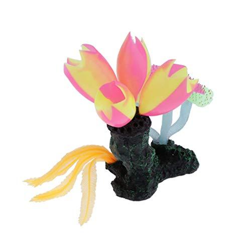 FLAMEER Estatua de Corales de Acuario