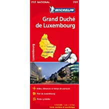 Carte NATIONAL Grand Duch du Luxembourg