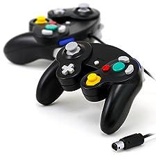 CSL - Nintendo Wii U / Wii / GameCube Gamepad / Controller | Vibrationseffekt | 2er Set