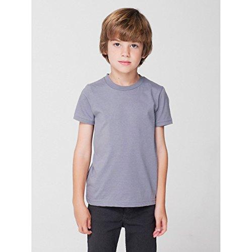 american-apparel-maglietta-a-maniche-corte-bambini-unisex-2-anni-grigio