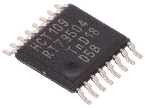 6x 74HCT109PW.112 IC digital JK flip-flop Channels2 Inputs5 HCT SMD NEXPERIA