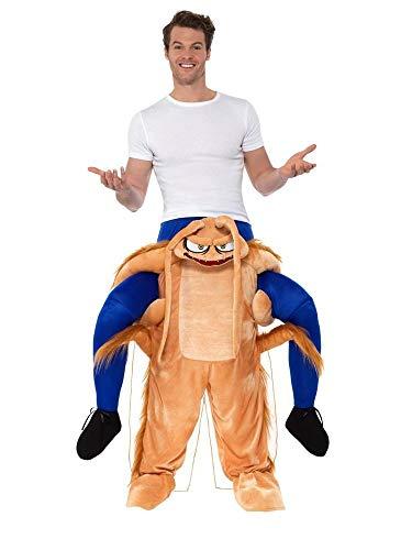 shoperama Lustiges Step-In Huckepack Kostüm Piggy Back Aufsitz Reiter Trag Mich JGA Junggesellenabschied, - Kakerlake Kostüm