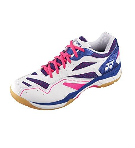 Yonex Nouveau Power Cush Confort Sport Badminton Chaussures Rose, Rose, 42
