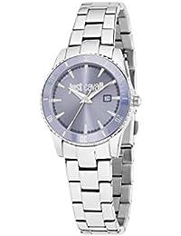 Just Cavalli Damen-Armbanduhr JUST IN TIME Analog Quarz Edelstahl R7253202505