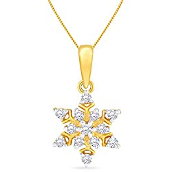 Malabar Gold & Diamonds 22k (916) Yellow Gold Pendant for Girls