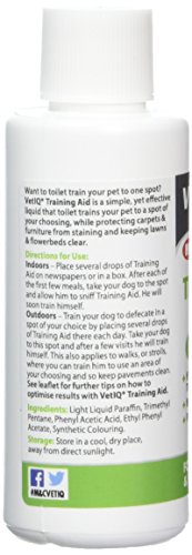 VetIQ Training Aid 60ml. Helps Toilet Train Puppies and Older Dogs Particularly When Settling Into New Home. Safe and Effective 4