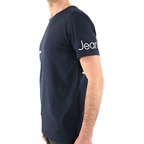 CALVIN KLEIN - Herren Kurzarm T-shirt CMP13S Blau (403 Midnight)