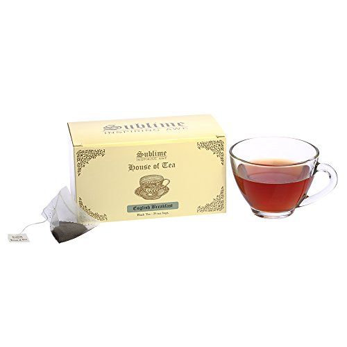 Sublime House Of Tea -darjeeling Tea (25 Pyramid Tea Bags)