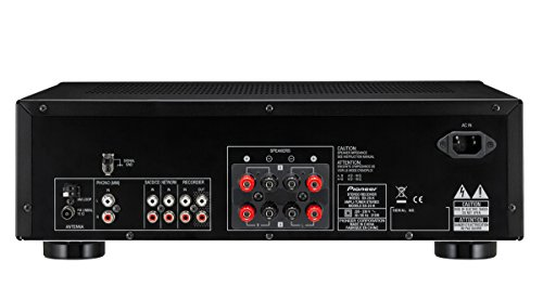 Pioneer SX-20-K 200W Stereo Receiver with FM/AM Tuner and Phono MM Input - Black