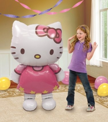 ballon-aluminium-geant-superforme-hello-kitty-127cm