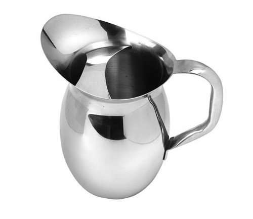 American Metalcraft (BPG67) 68 oz Stainless Steel Bell Pitcher w/Ice Guard -