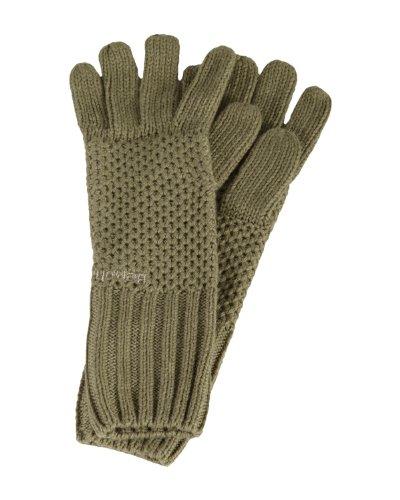 Bench Damen Armwärmer Handschuhe Herto braun (lead gray marl) One Size